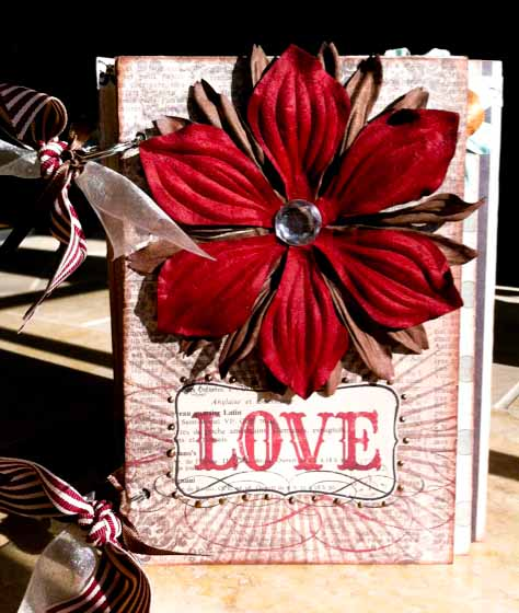 Love Chipboard Book 1