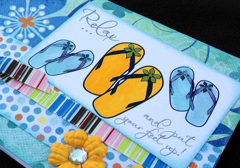 Flip flop card (2 of 2)